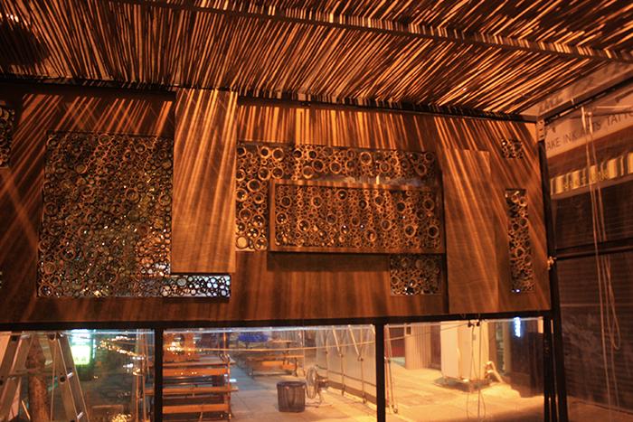 銅獎作品「竹蜂巢」