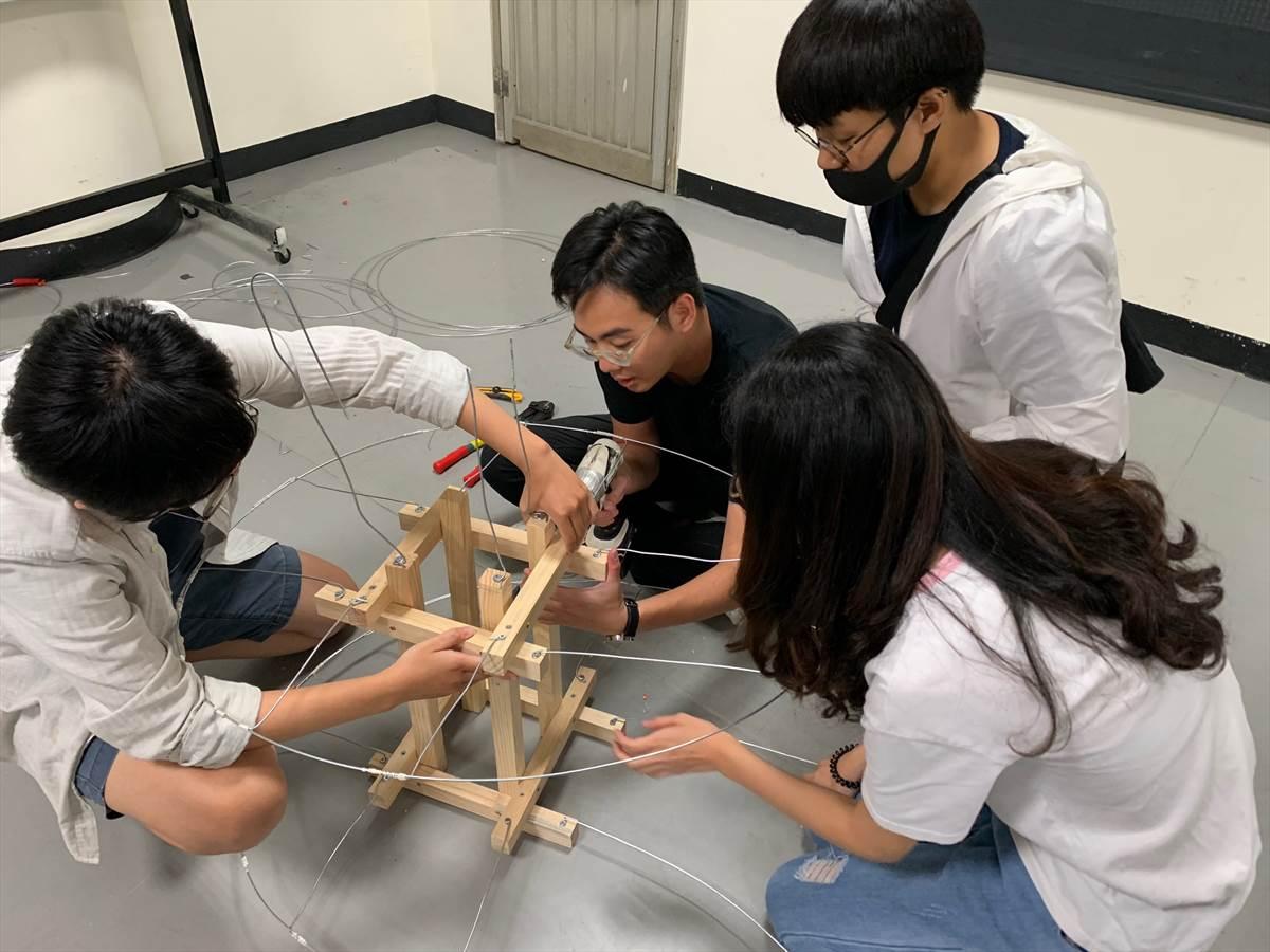 「日本立佞武多燈籠」工作坊學員分工組合結構