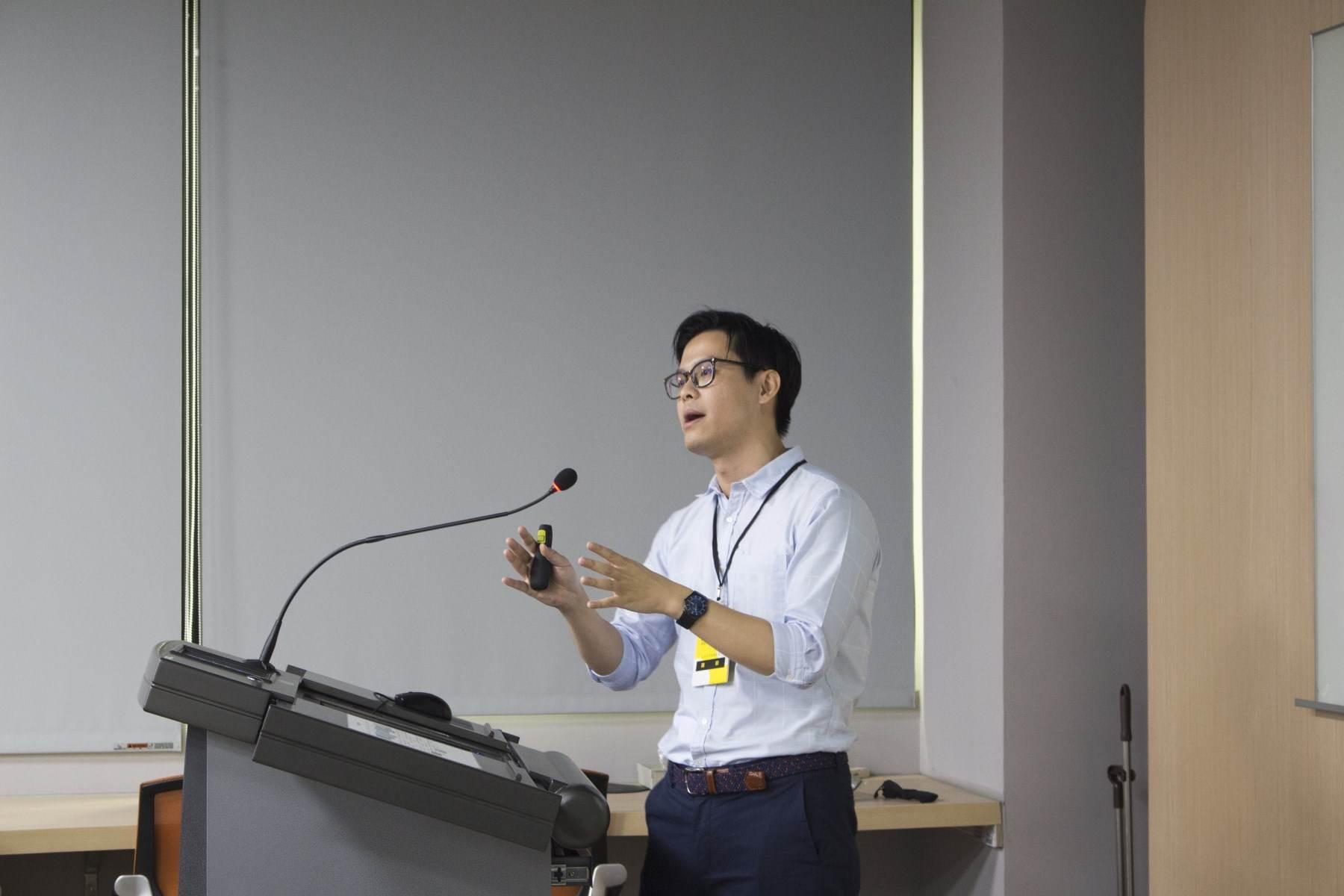 國立台灣科技大學建築系教授陳彥廷講座分享