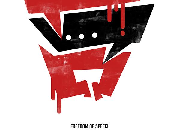 言論自由 freedom of speech